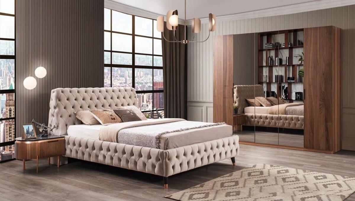 Alarey Ceviz Yatak Odası