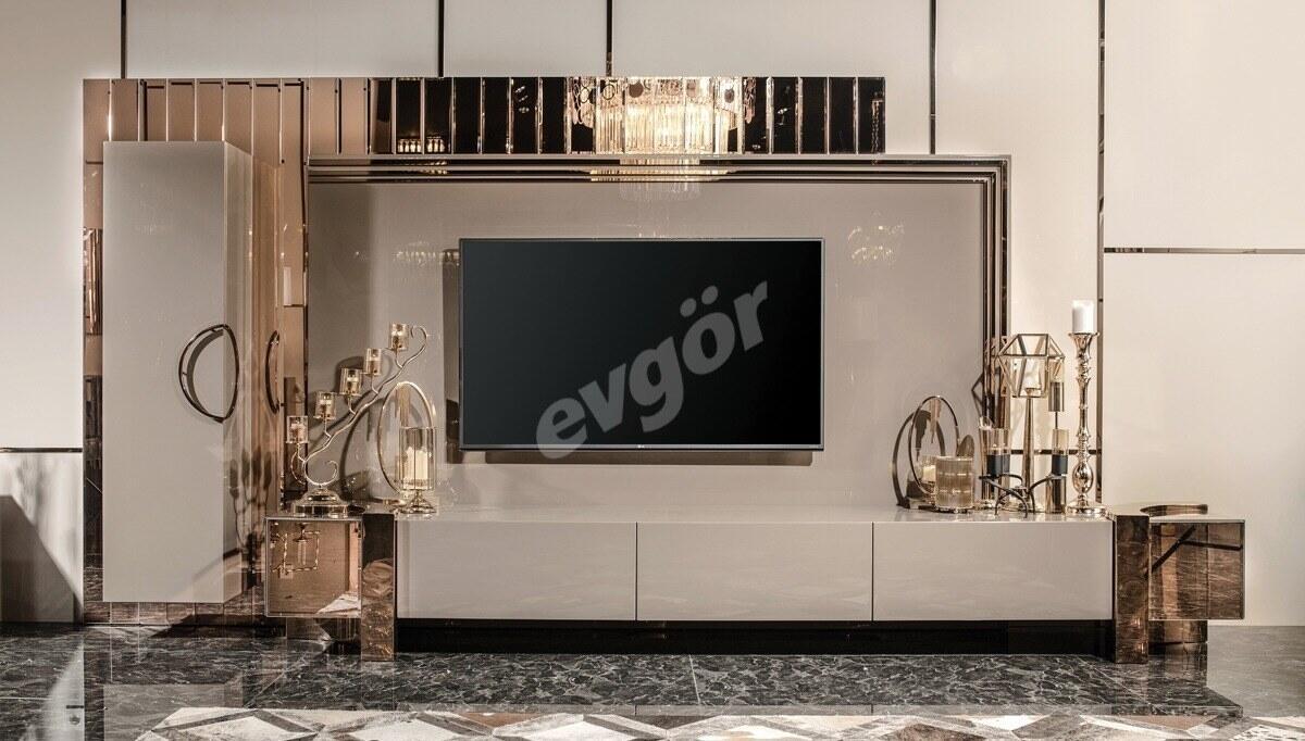 Evora Luxury Metal TV Ünitesi