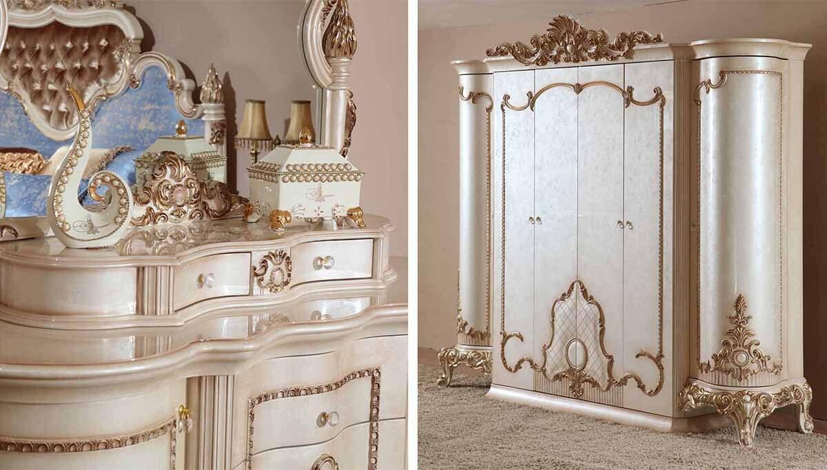 Fulya Klasik Yatak Odası - Thumbnail