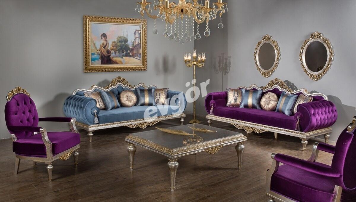 Kral Art Deco Koltuk Takımı