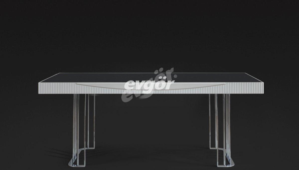 Laguta Beyaz Yemek Masası