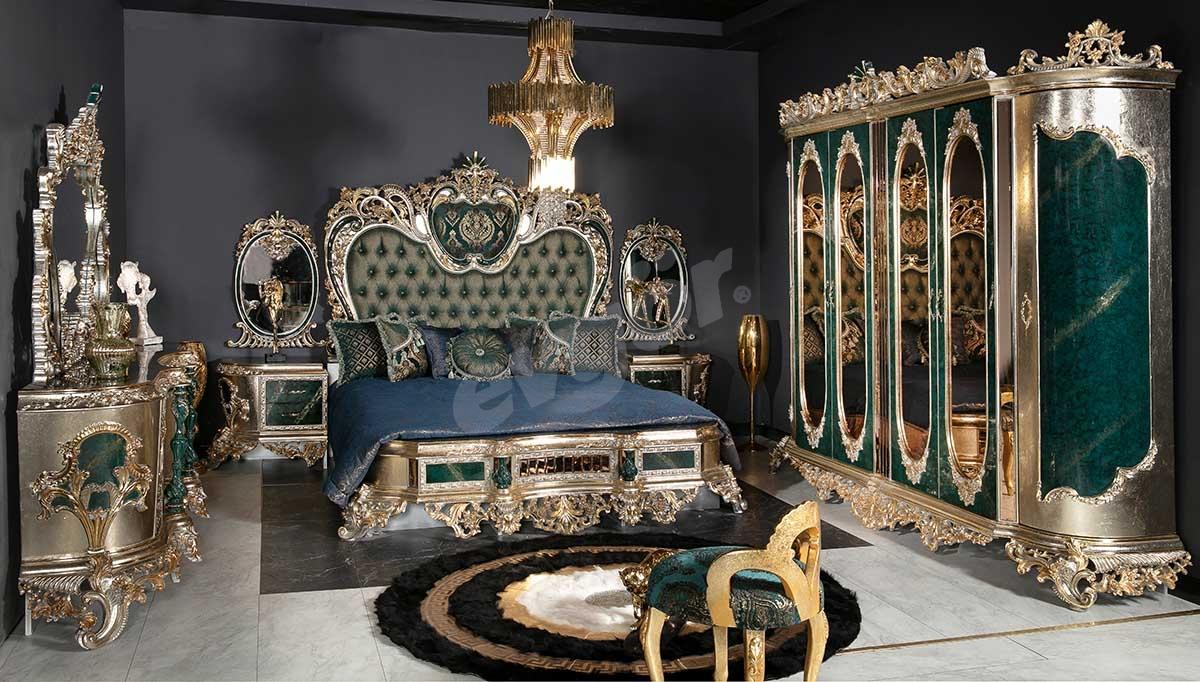Lapseki Yeşil Yatak Odası