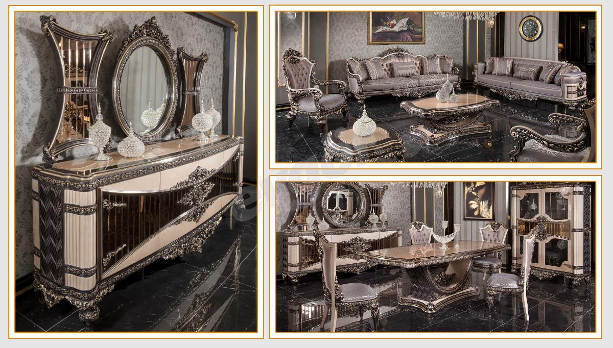 Milano Klasik Salon Takımı