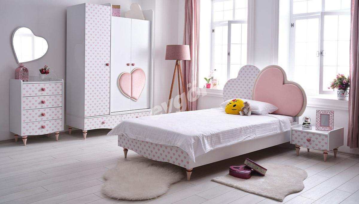 Pink Kalpli Genç Odası