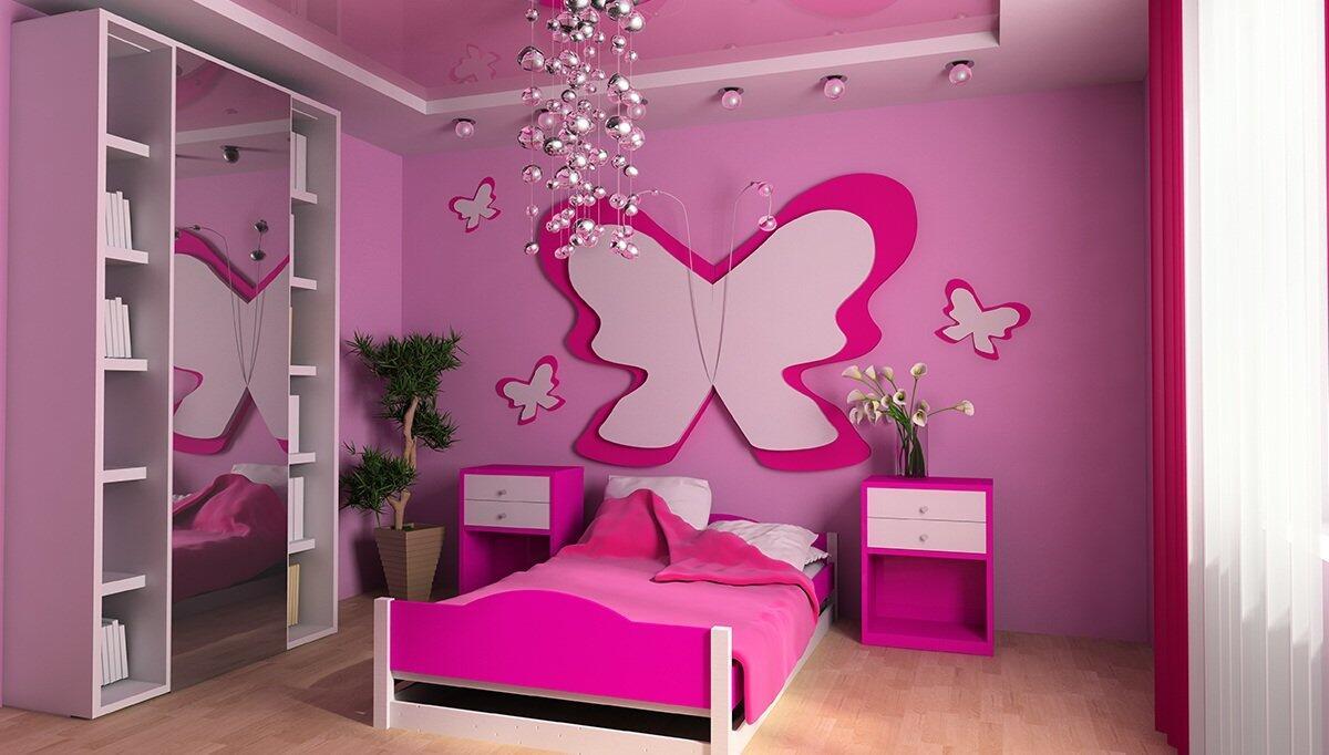 Renkli Bebek Odaları