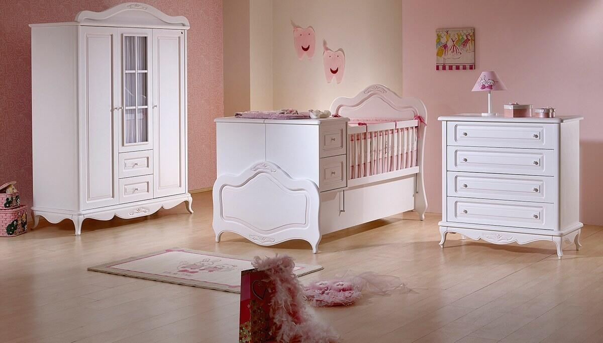 Rose Country Bebek Odası - Thumbnail