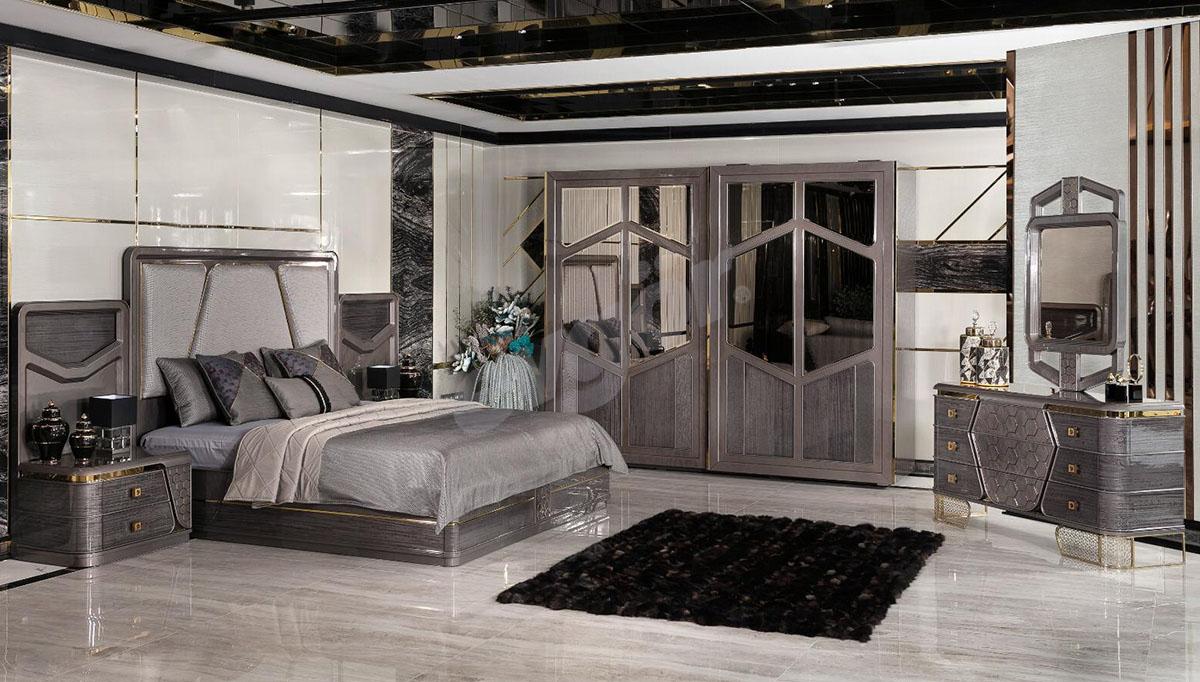 Sabrina Metal Yatak Odası