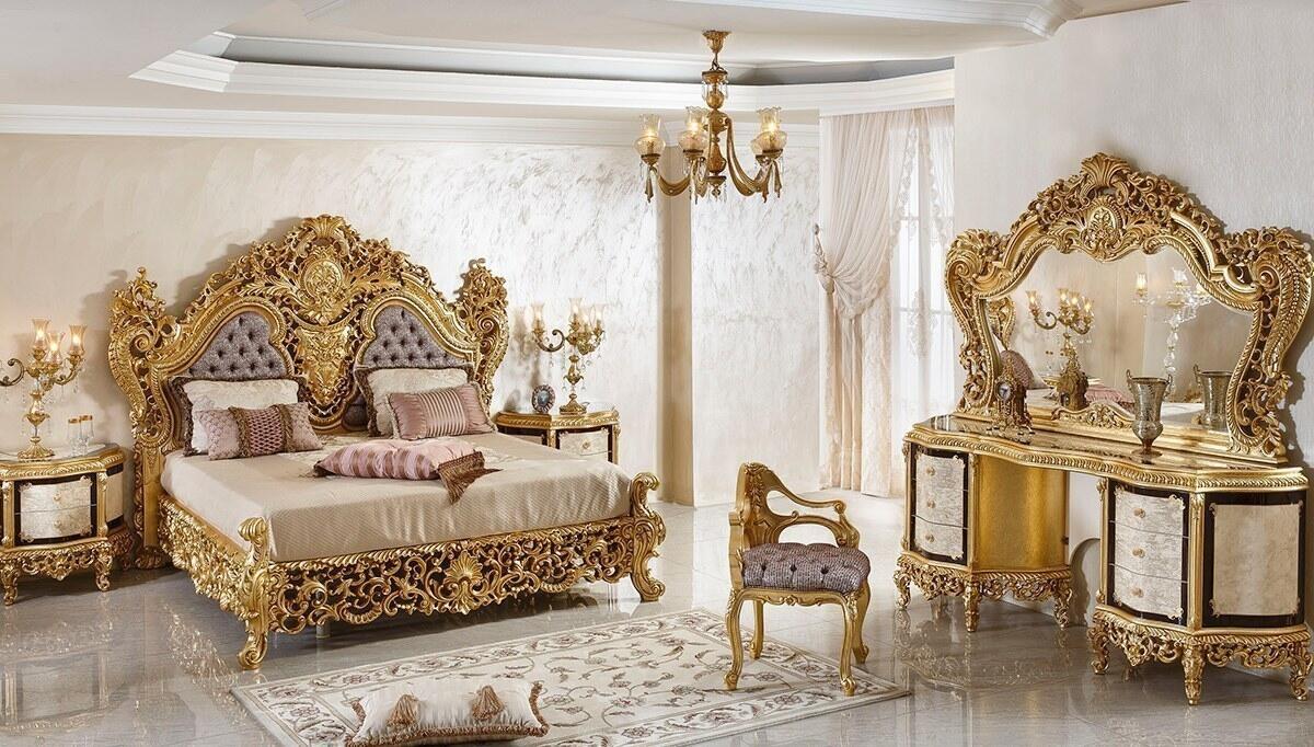 Şehrazat Lake Oymalı Klasik Yatak Odası