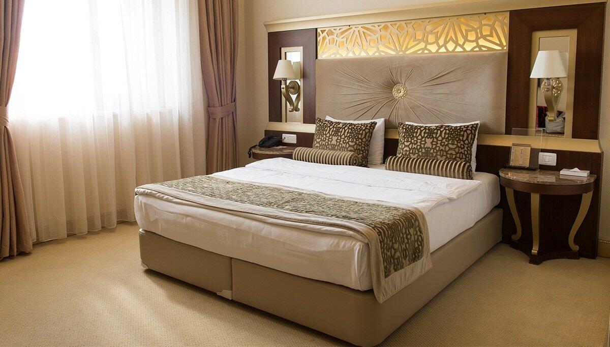 Sonar Otel Yatak Odası