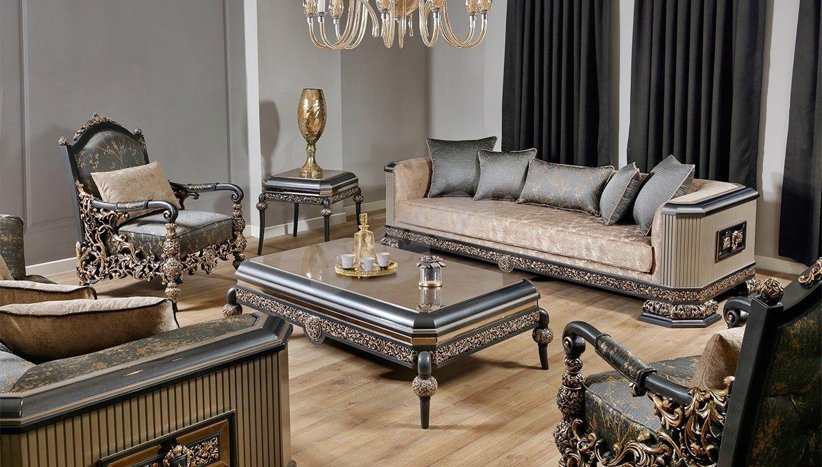 Toledo Art Deco Koltuk Takımı