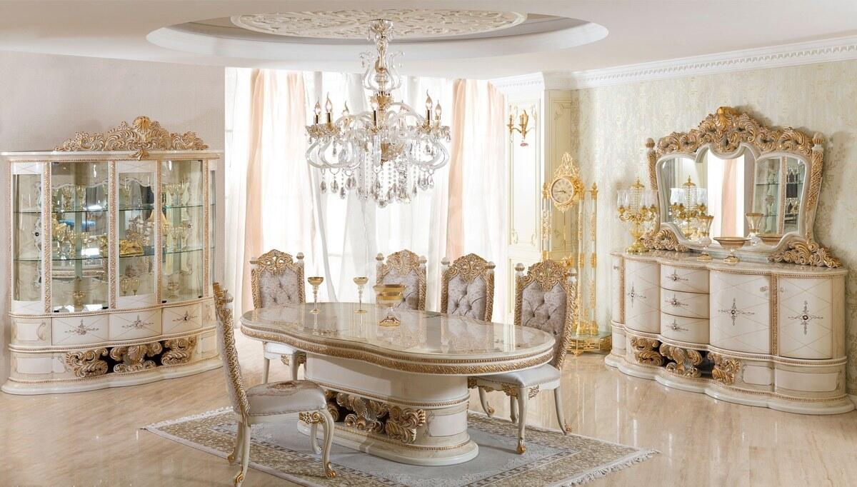 Villa Klasik Yemek Odası
